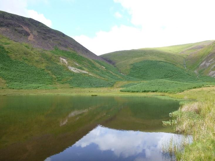 A natural lake