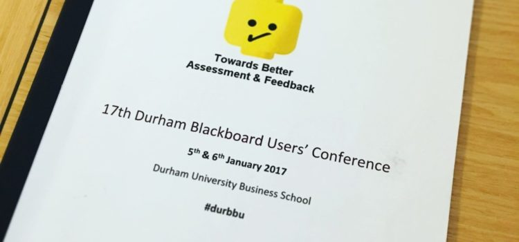 Durham Blackboard User's Conference 2017