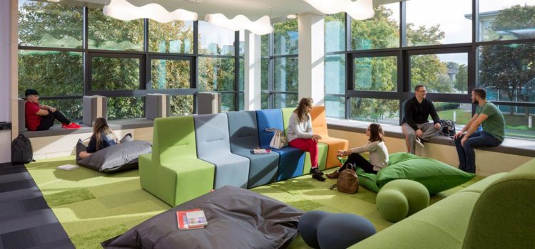 Future Learning Spaces in Higher Education: Space, technology and pedagogy