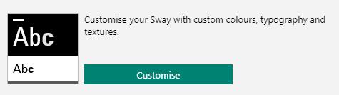 Customise style button